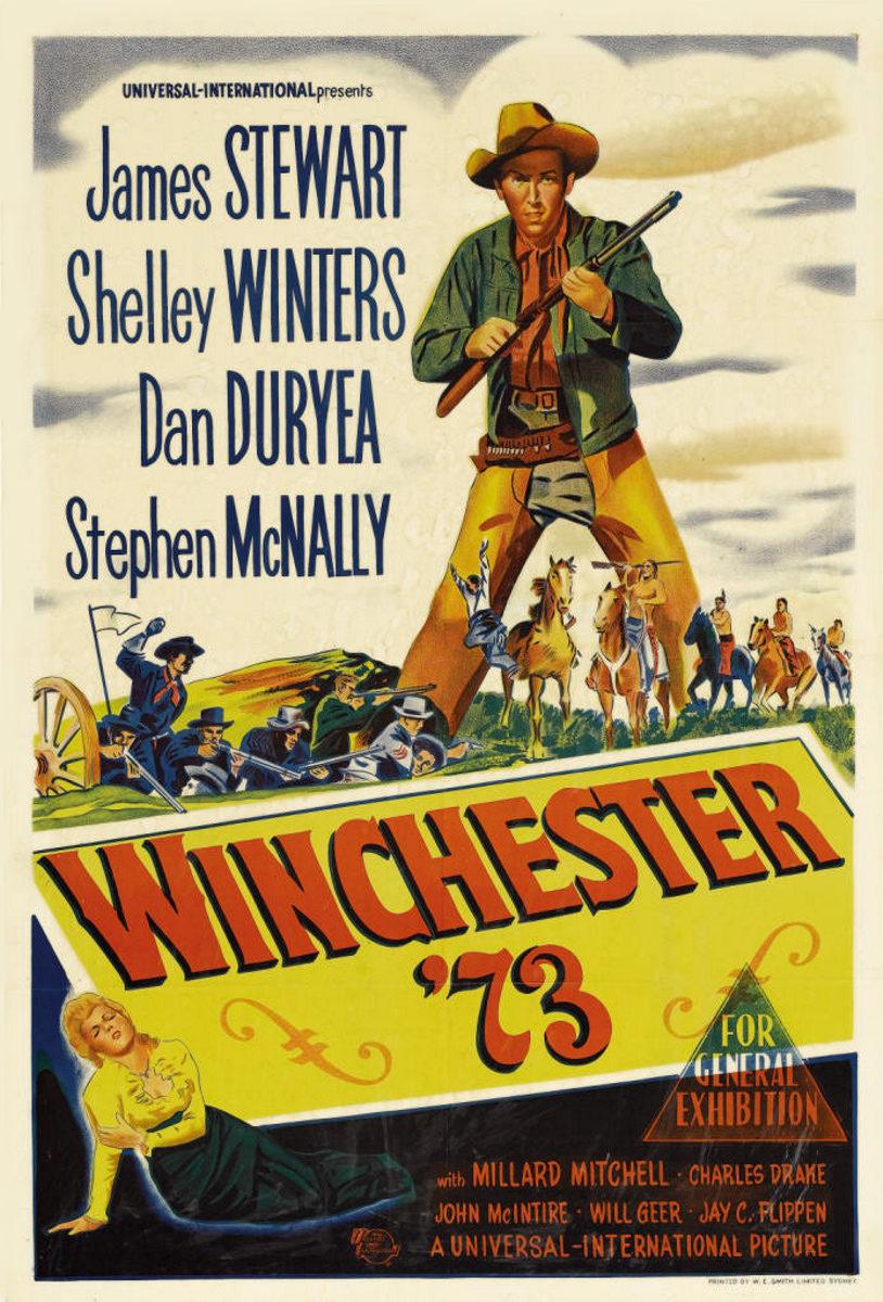 Cartel Estados Unidos de 'Winchester 73'