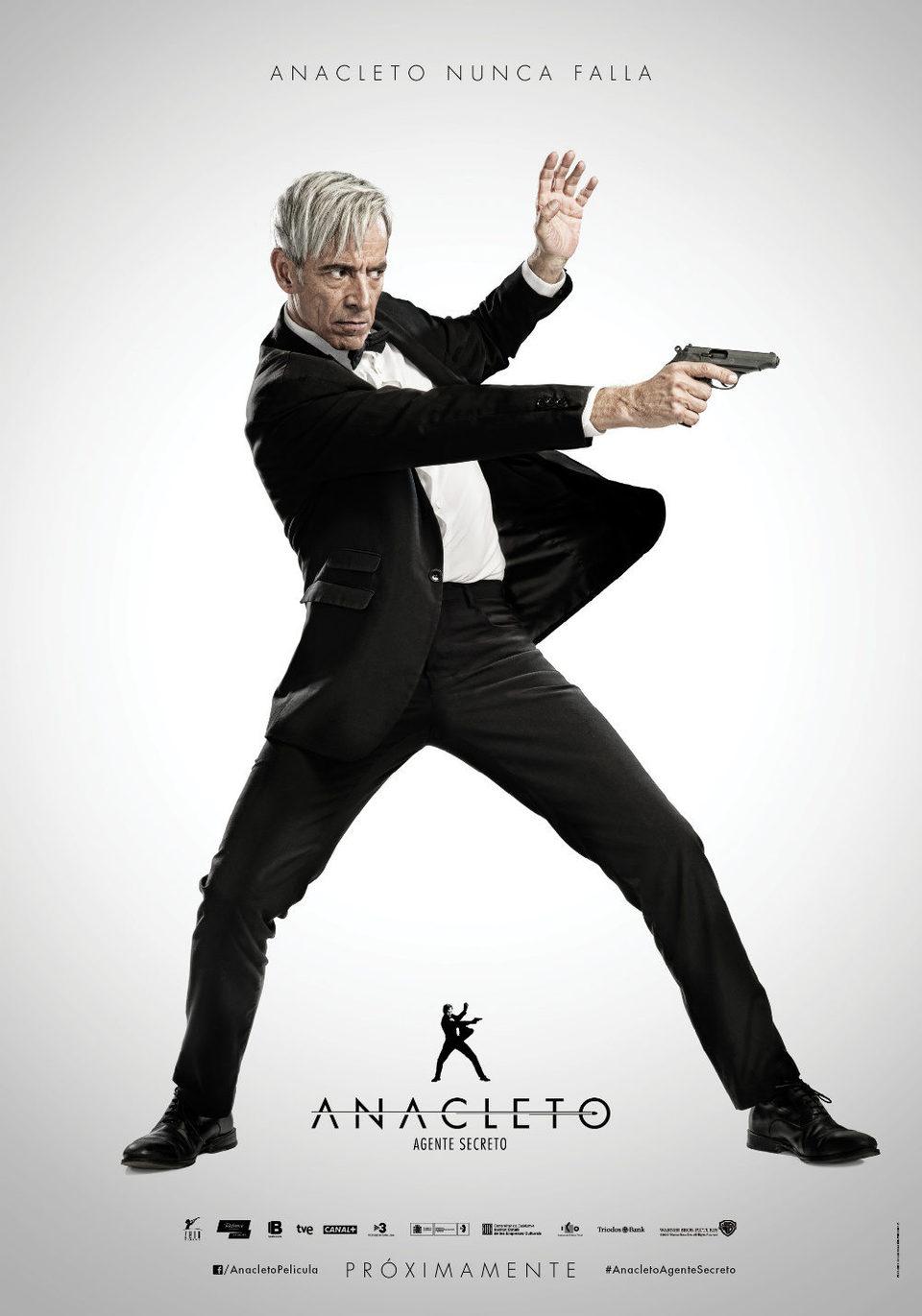 Cartel España de 'Anacleto: Agente secreto'