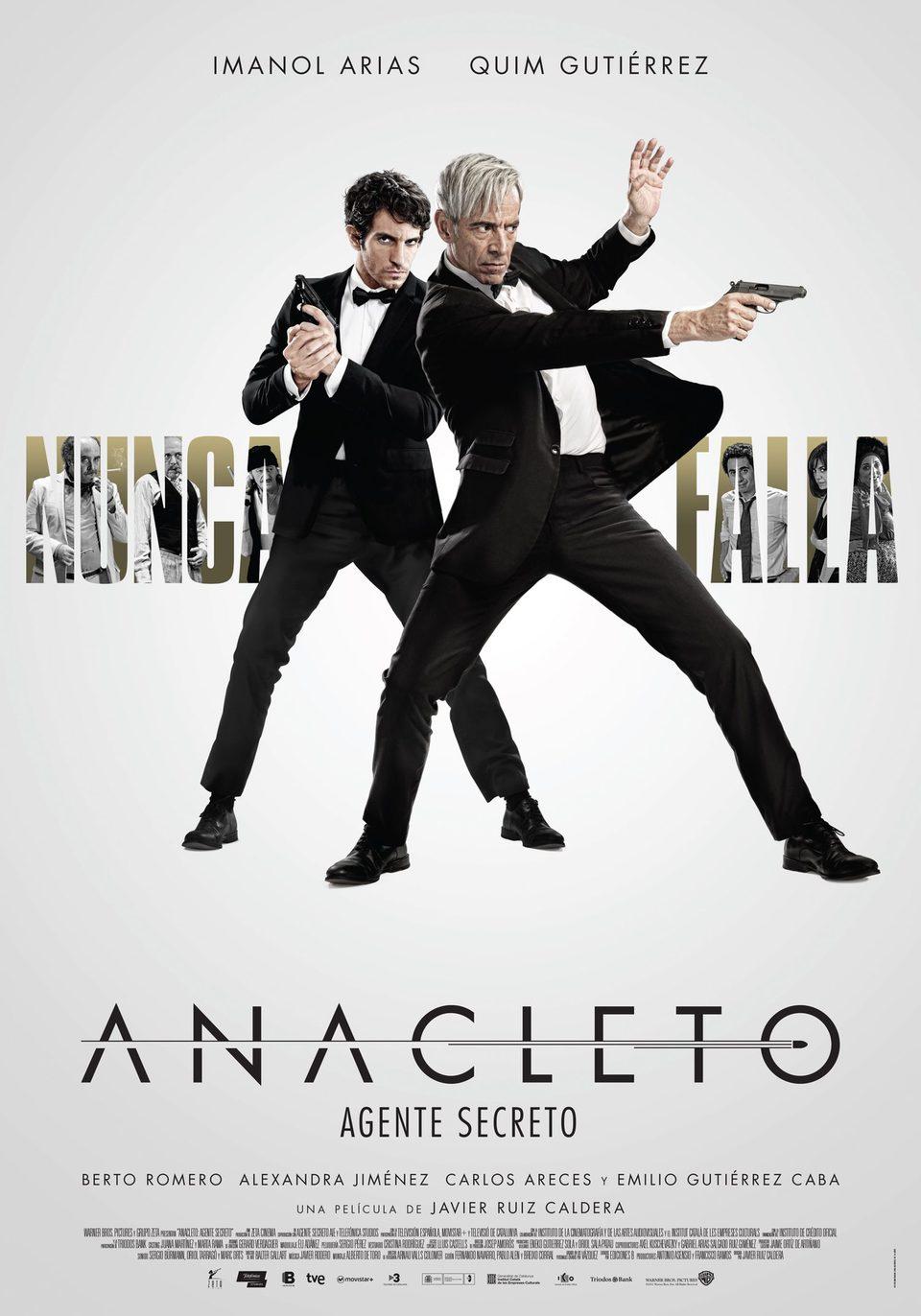 Cartel España 2 de 'Anacleto: Agente secreto'