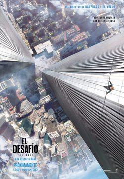 Cartel de El desafío (The Walk)
