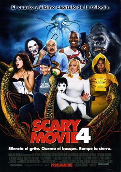 Cartel de Scary Movie 4
