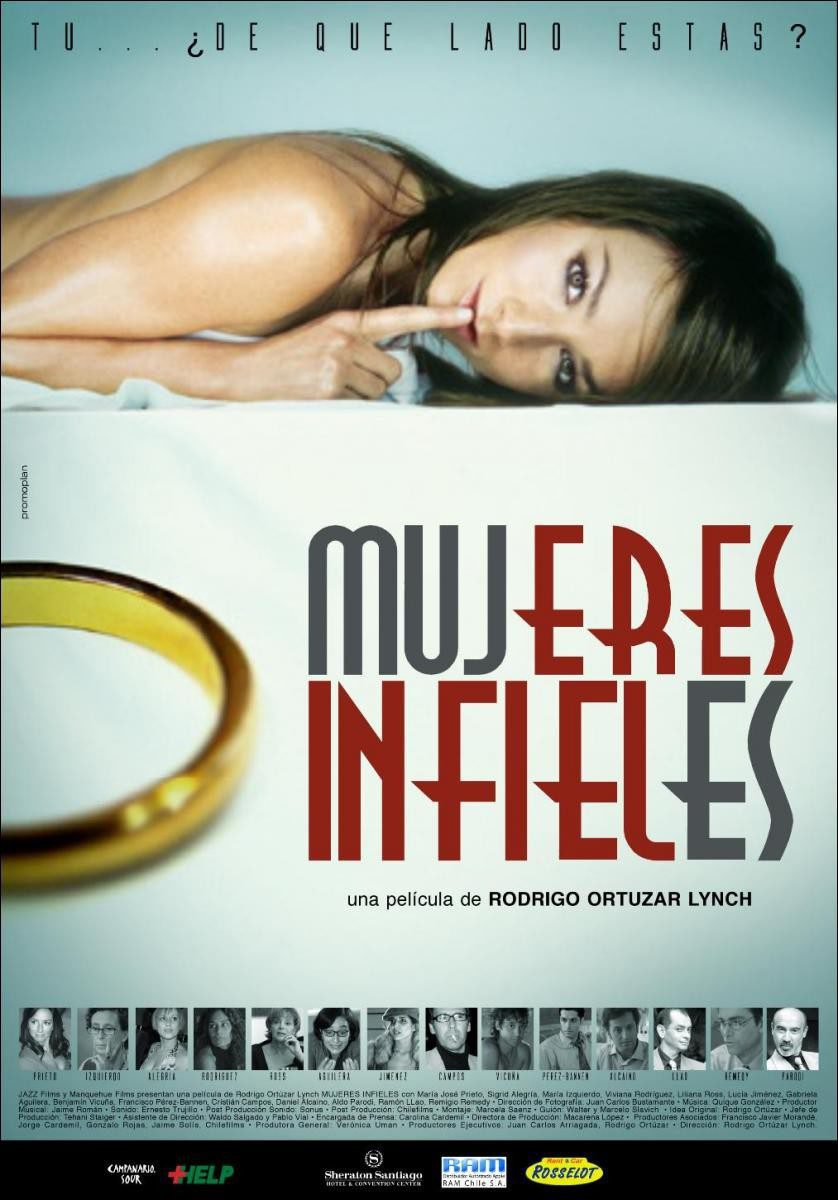 Cartel Chile de 'Mujeres infieles'