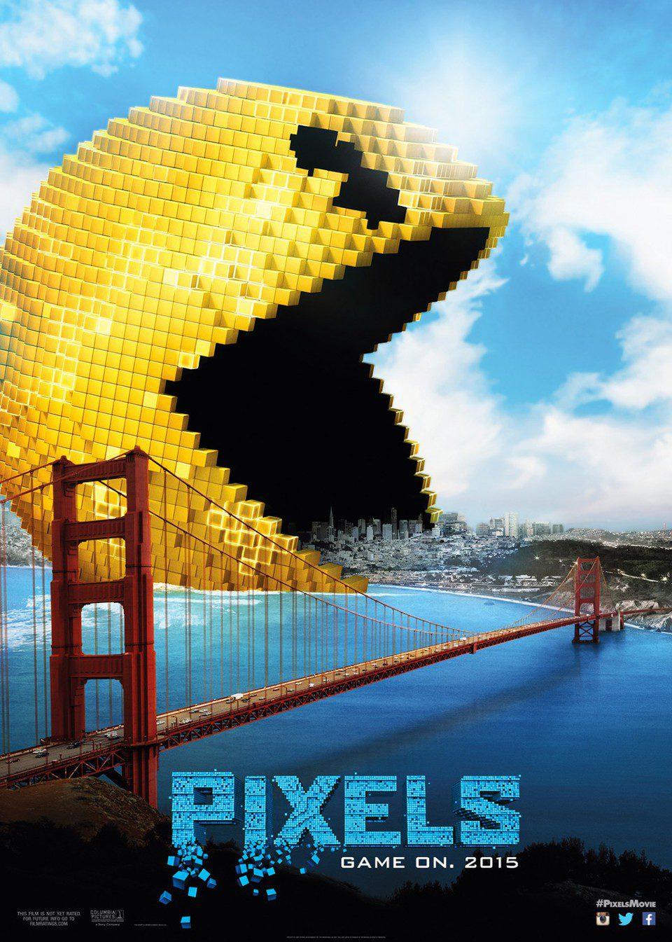 Cartel EEUU de 'Pixels'