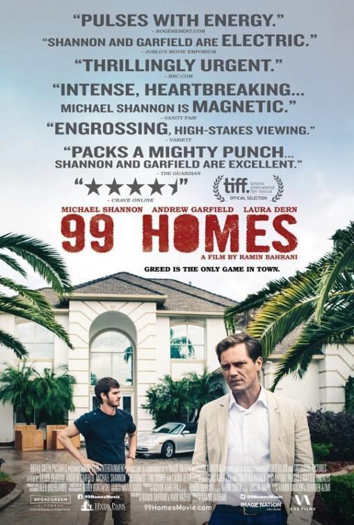 Cartel 99 Homes de '99 Homes'