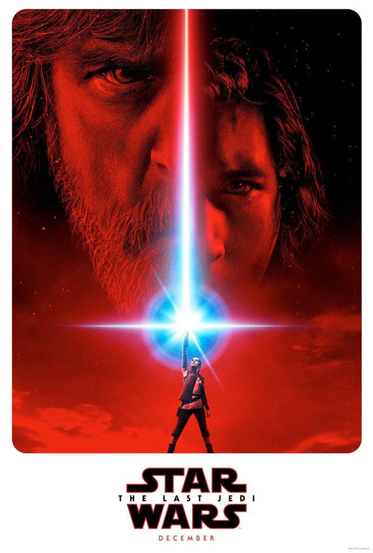 Cartel EE.UU. (Teaser) de 'Star Wars: Los últimos Jedi'