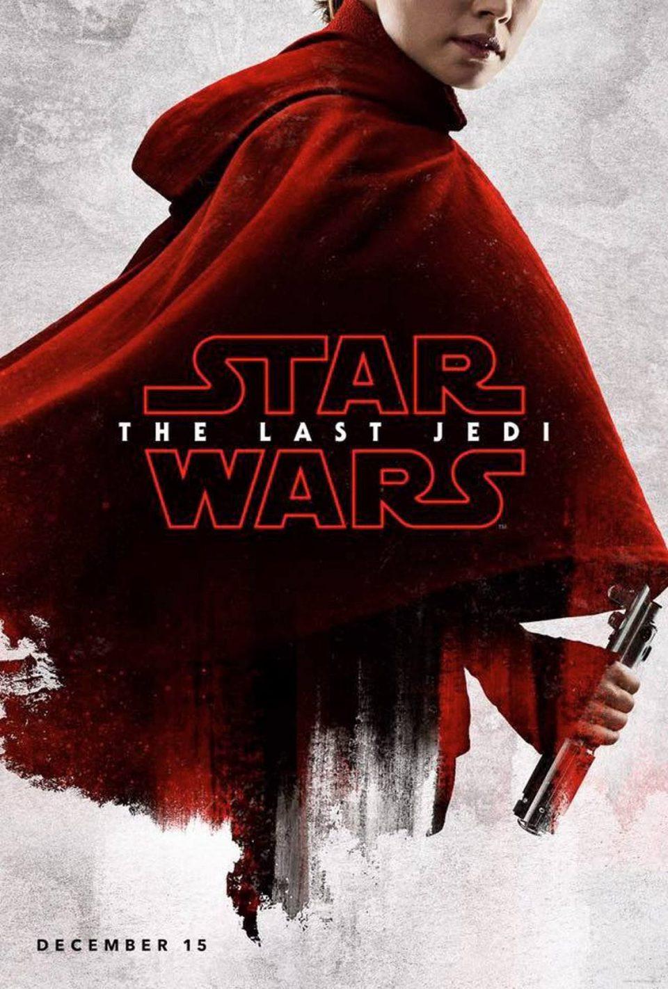 Cartel Rey de 'Star Wars: Los últimos Jedi'