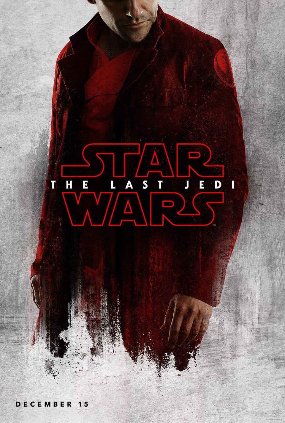 Cartel Poe de 'Star Wars: Los últimos Jedi'