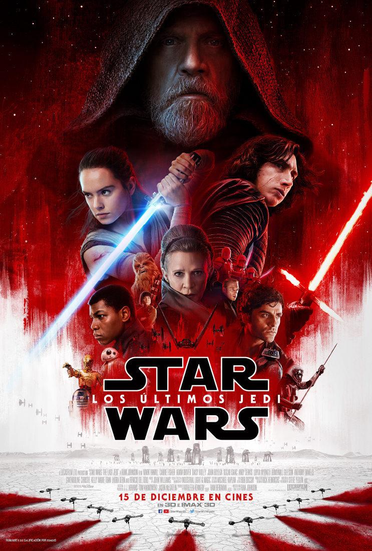 Cartel España de 'Star Wars: Los últimos Jedi'