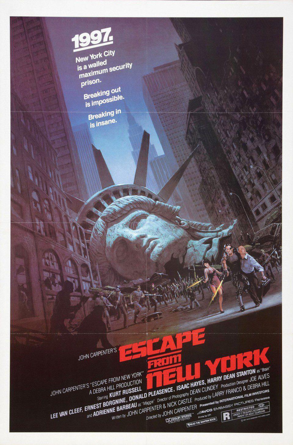 Cartel Estados Unidos de '1997: Rescate en Nueva York'