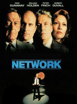 Cartel de Network, un mundo implacable