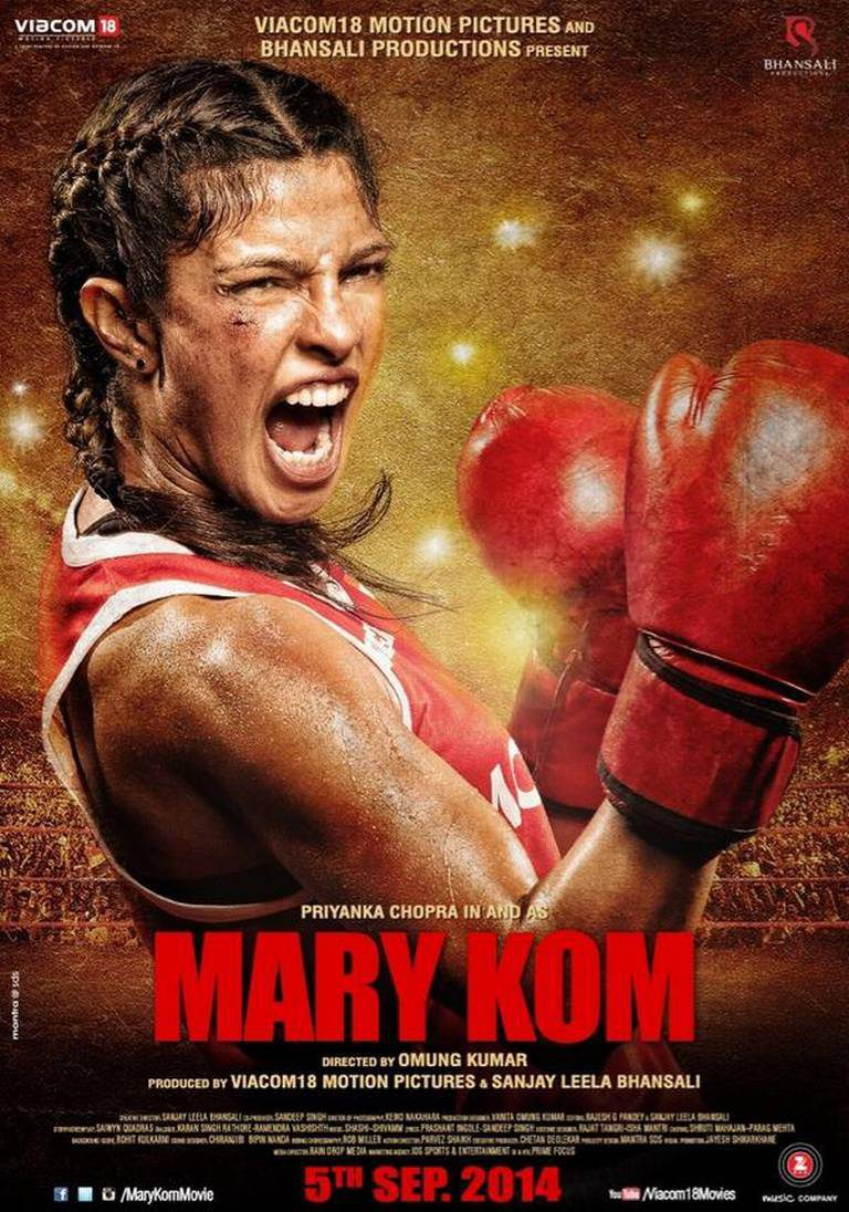 Cartel Reino Unido de 'Mary Kom'