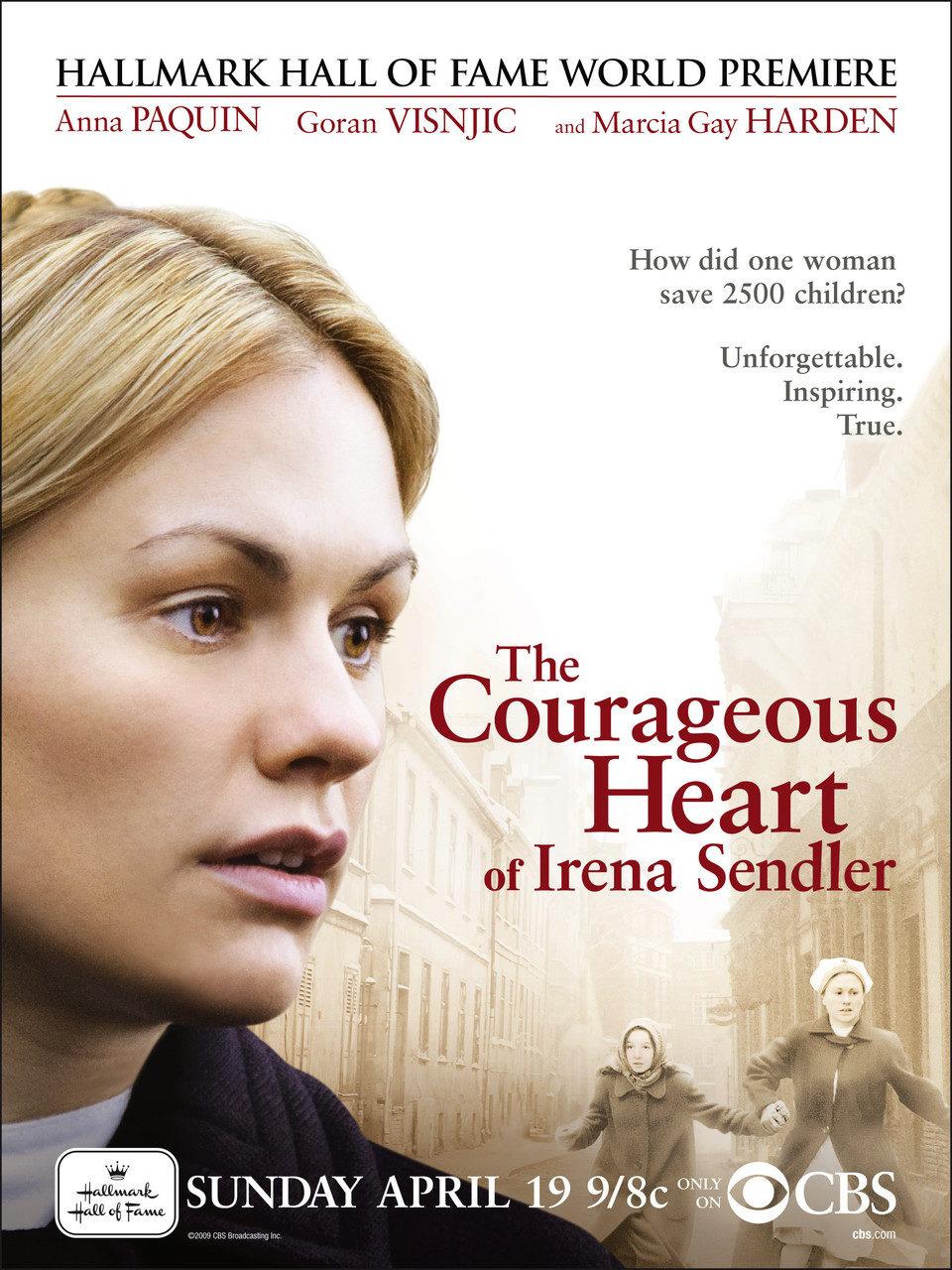 Cartel Estados Unidos de 'The Courageous Heart of Irena Sendler'