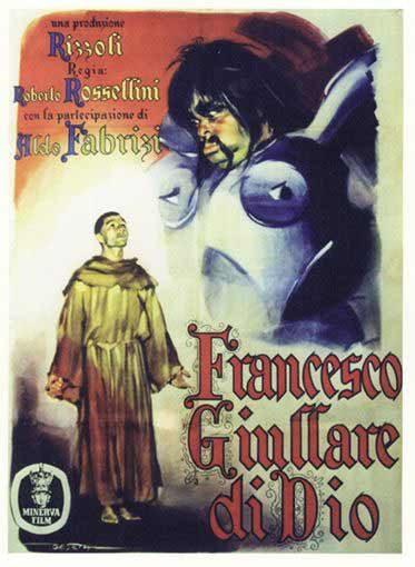 Cartel Italia de 'Francisco, juglar de Dios'