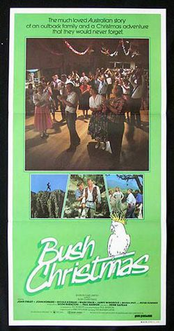 Cartel de Bush Christmas
