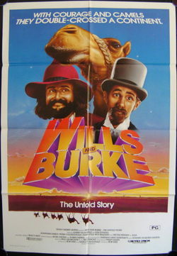 Cartel de Wills & Burke