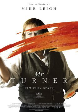 Cartel de Mr. Turner