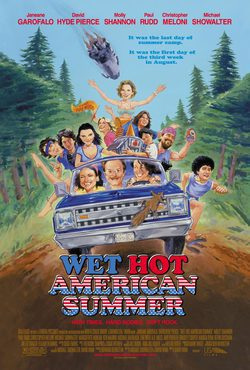 Cartel de Wet Hot American Summer