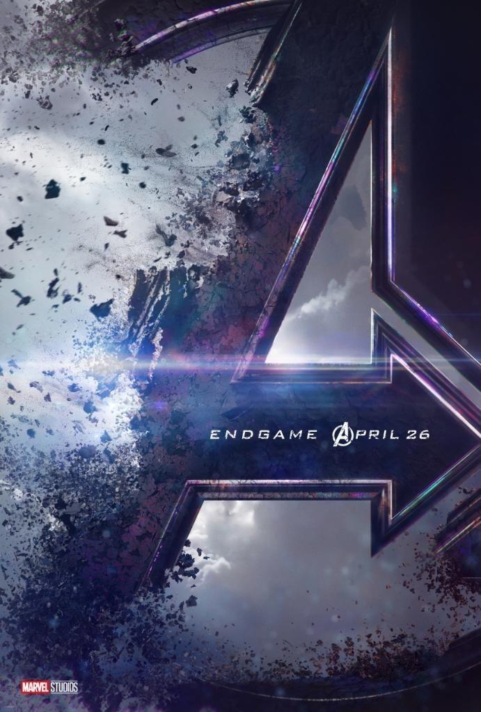 Cartel Oficial de 'Vengadores: Endgame'