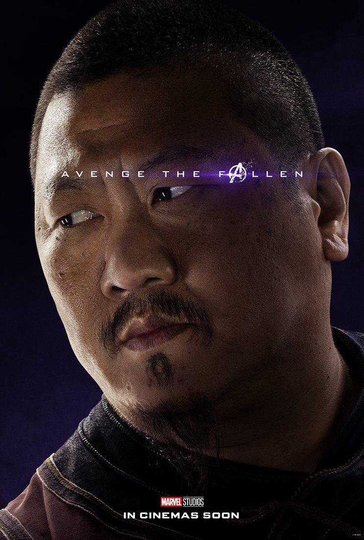 Cartel Wong de 'Vengadores: Endgame'