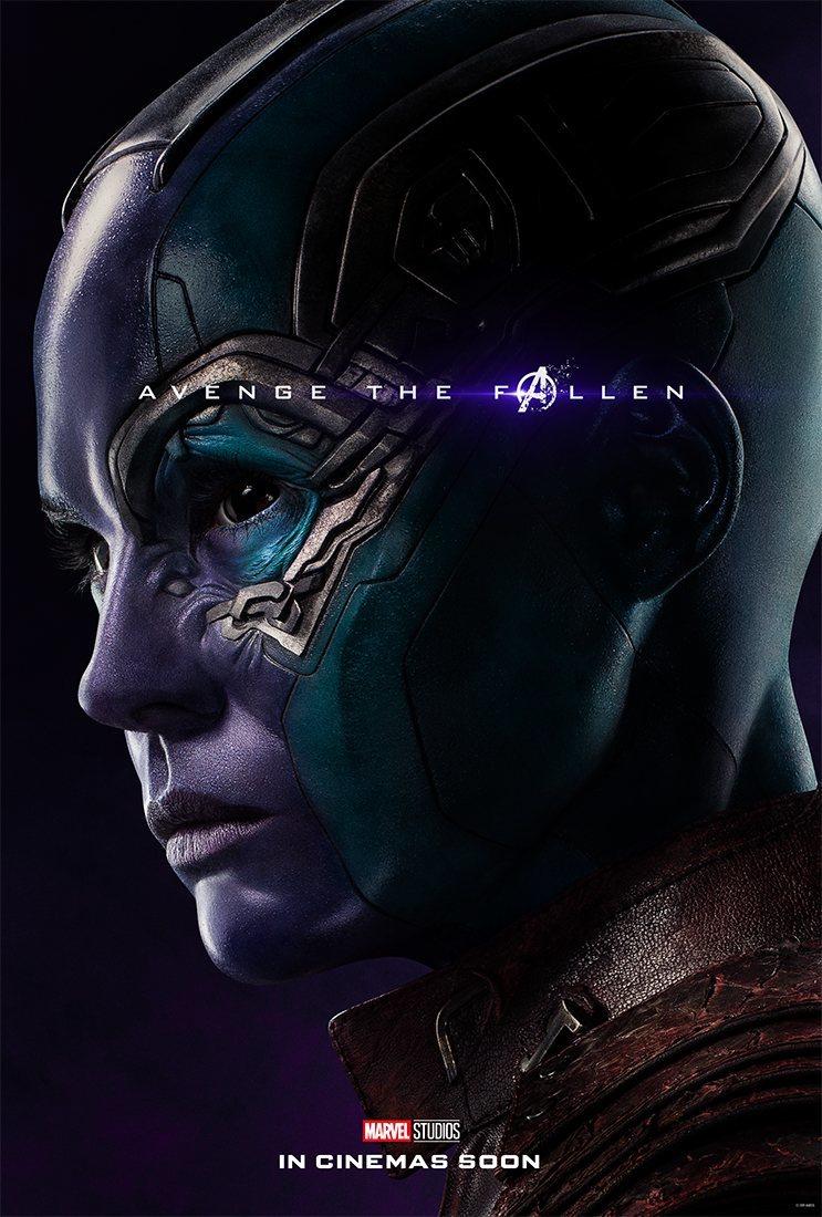 Cartel Nebula de 'Vengadores: Endgame'
