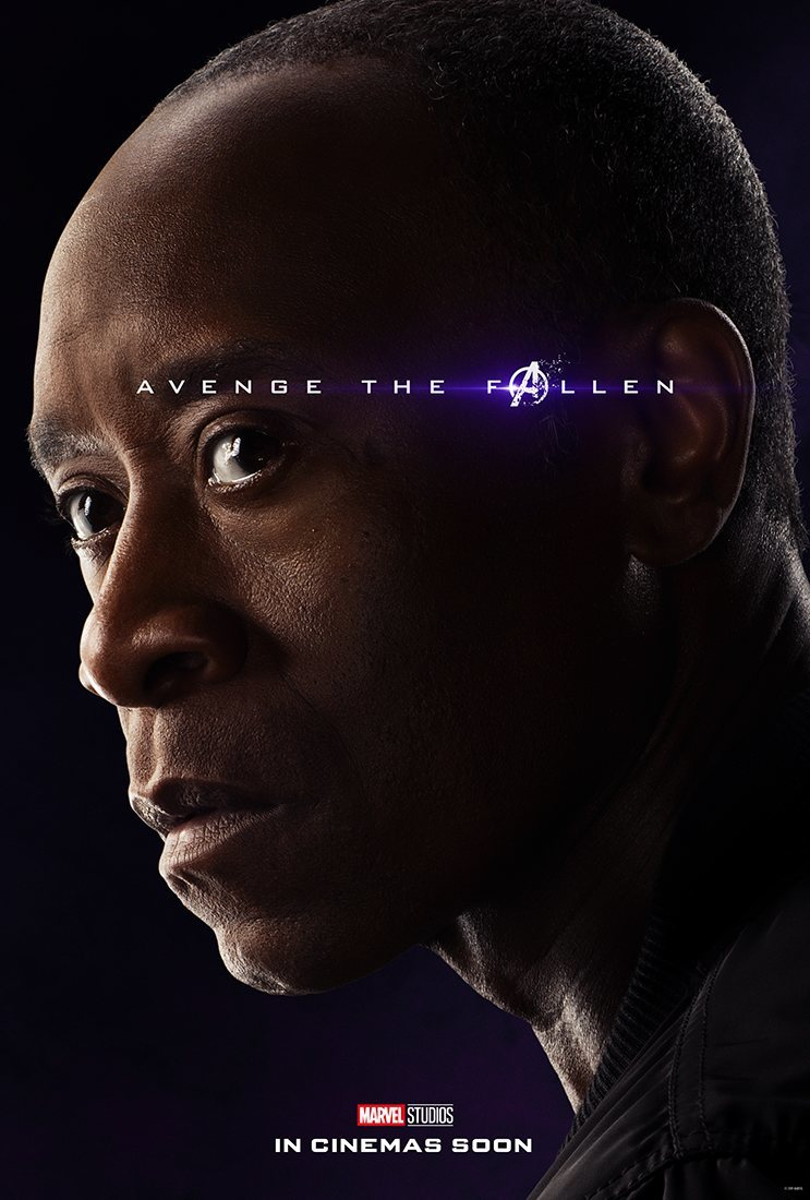 Cartel James Rhodes / War Machine de 'Vengadores: Endgame'