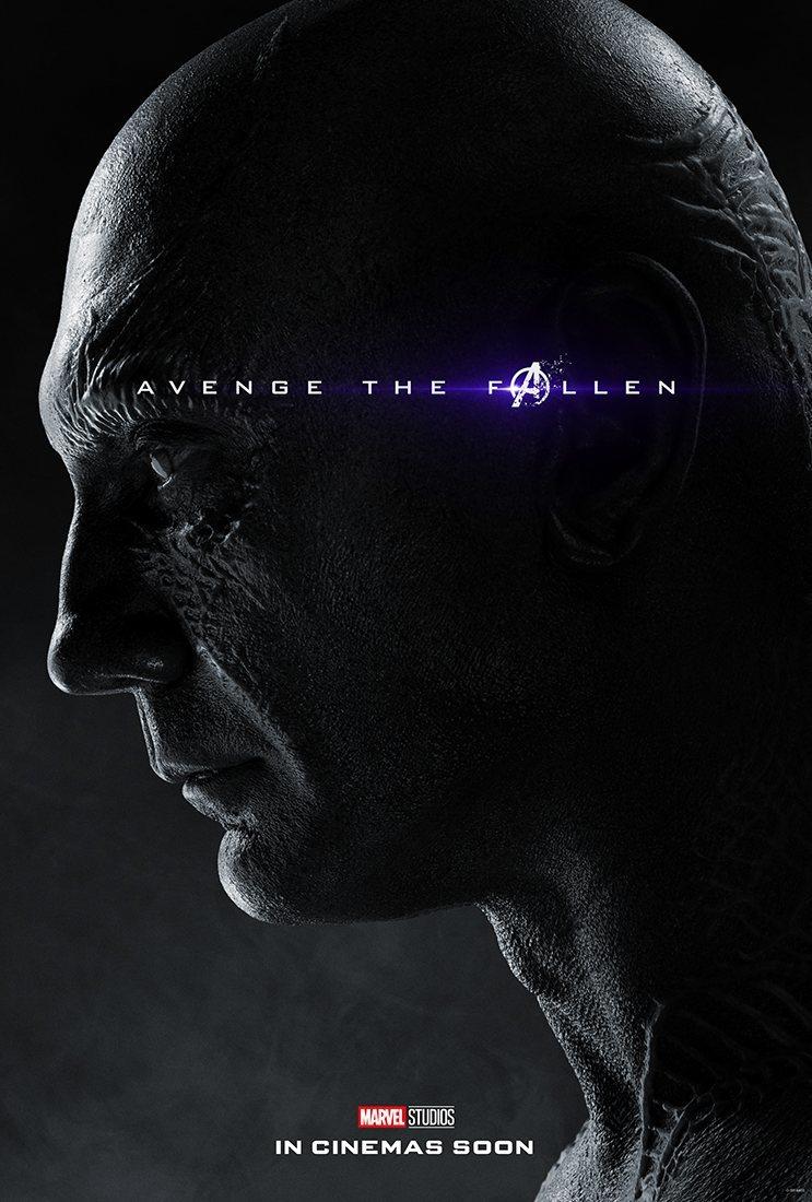 Cartel Drax de 'Vengadores: Endgame'