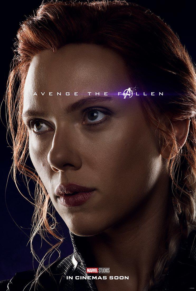 Cartel Natasha Romanoff / Viuda Negra de 'Vengadores: Endgame'