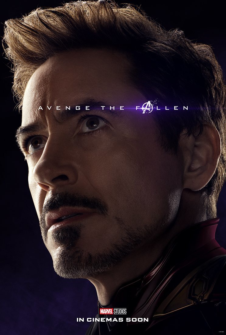Cartel Tony Stark / Iron Man de 'Vengadores: Endgame'