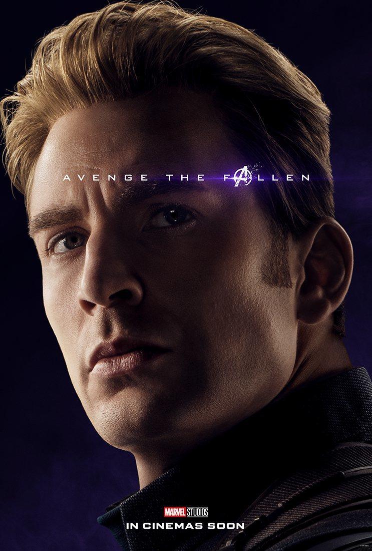 Cartel Steve Rogers / Capitán América de 'Vengadores: Endgame'