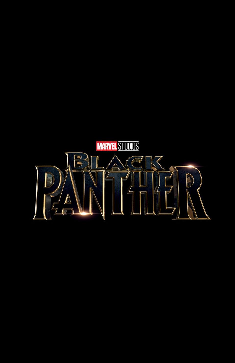Cartel Logo Comic-Con San Diego 2016 de 'Black Panther'