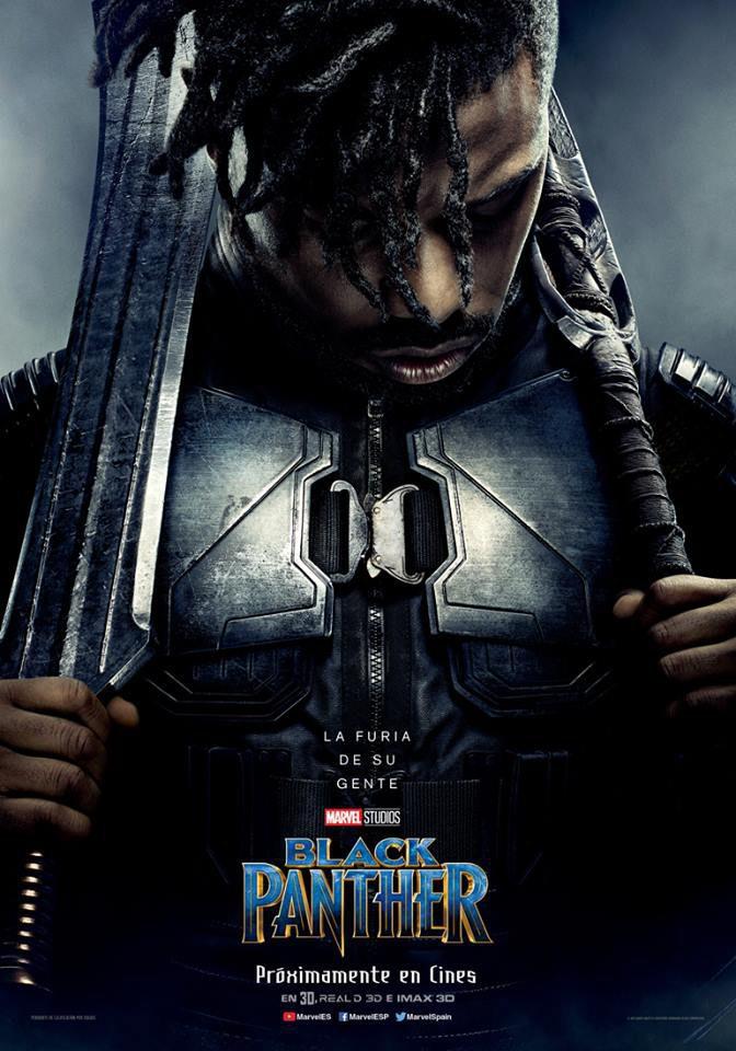 Cartel Killmonger de 'Black Panther'