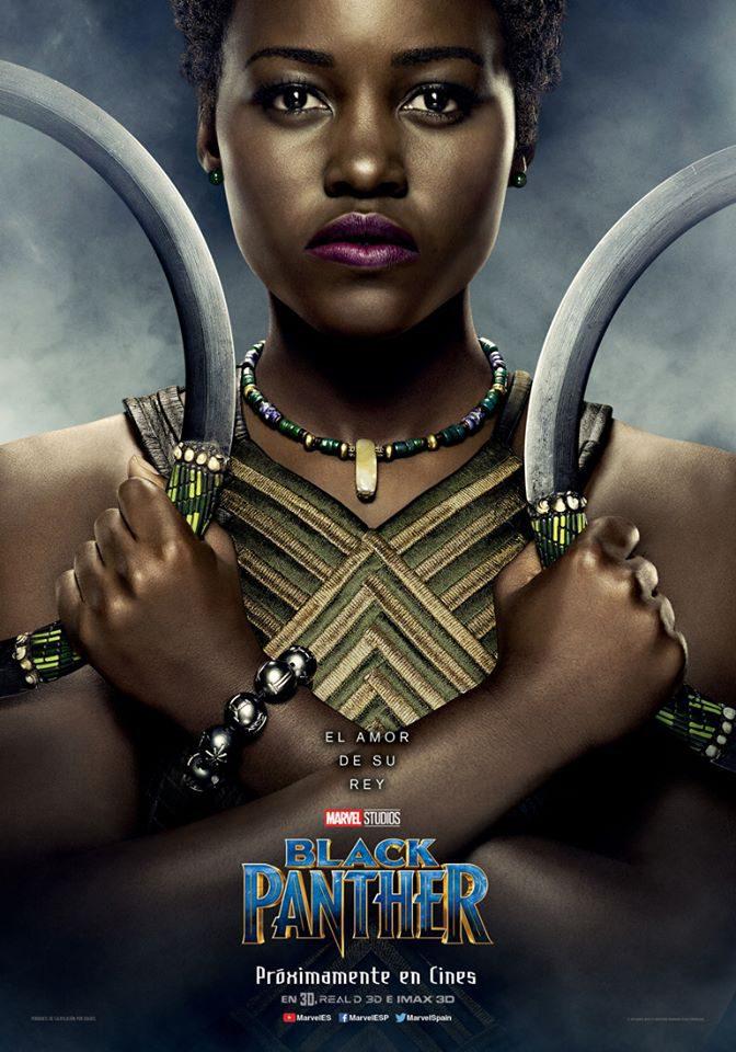 Cartel Nakia de 'Black Panther'