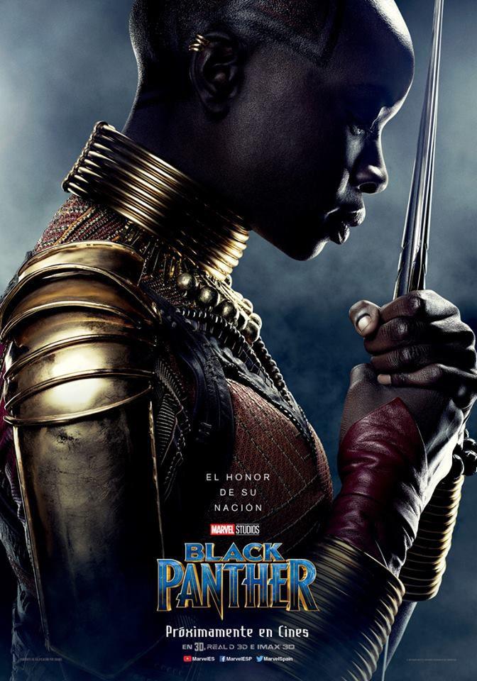 Cartel Okoye de 'Black Panther'