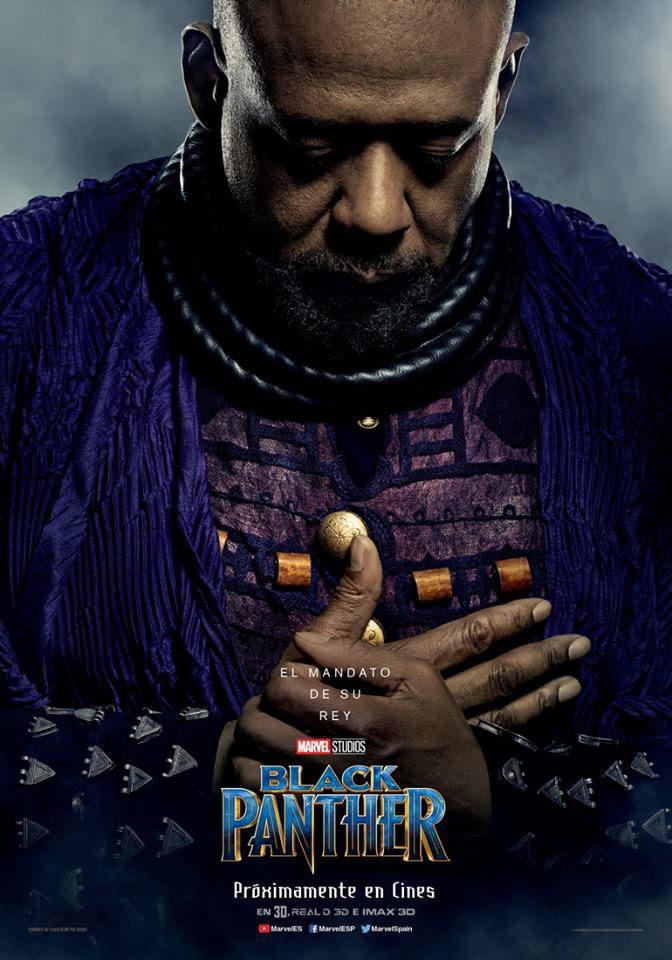 Cartel Zuri de 'Black Panther'