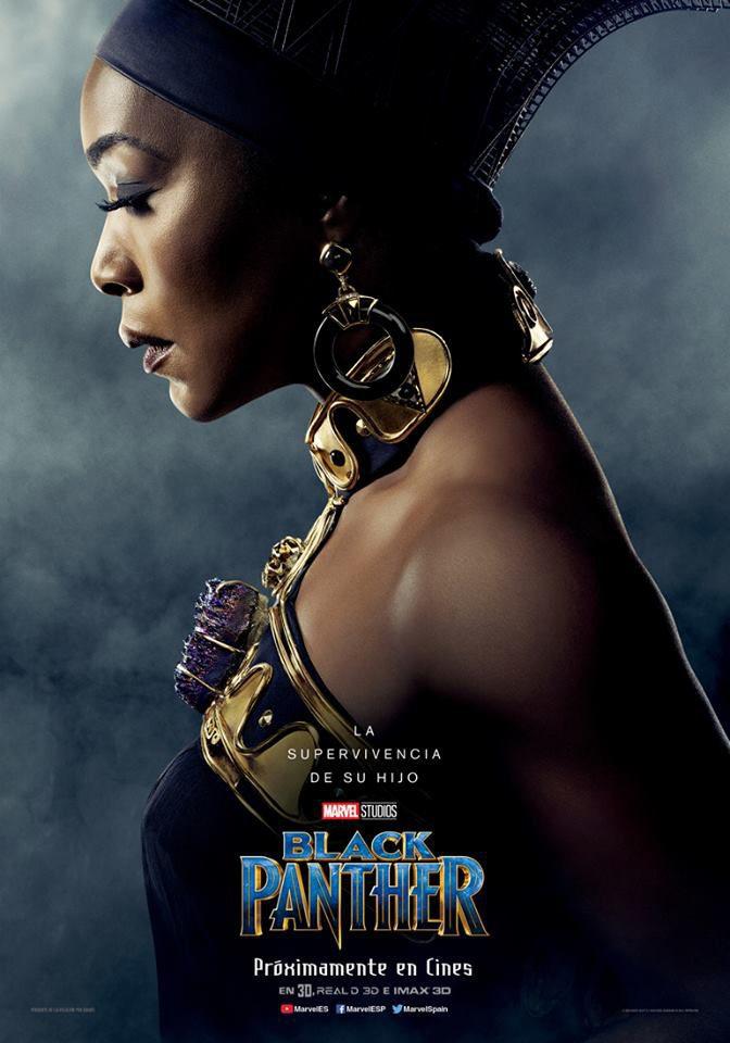 Cartel Ramonda de 'Black Panther'