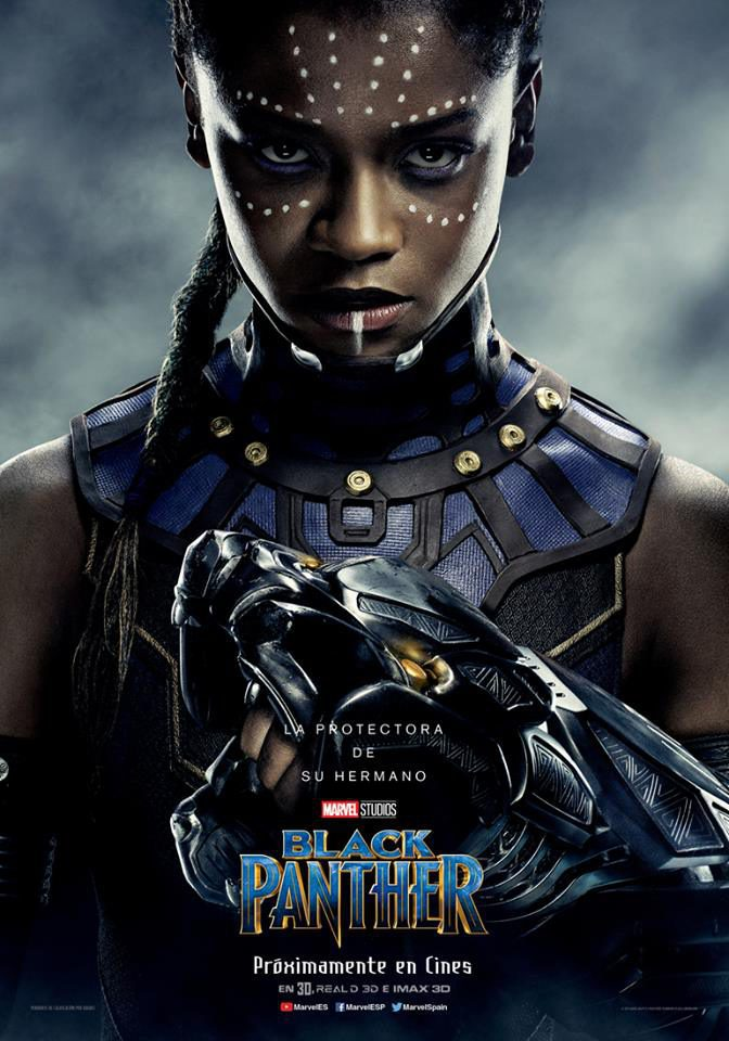 Cartel Shuri de 'Black Panther'