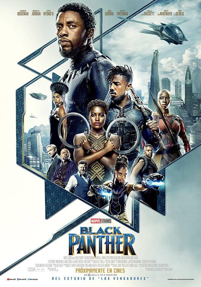 Cartel España de 'Black Panther'