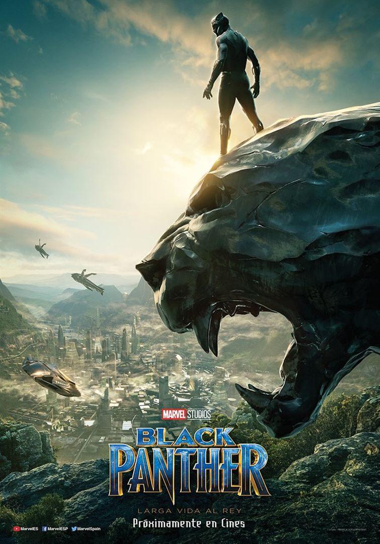 Cartel España #2 de 'Black Panther'