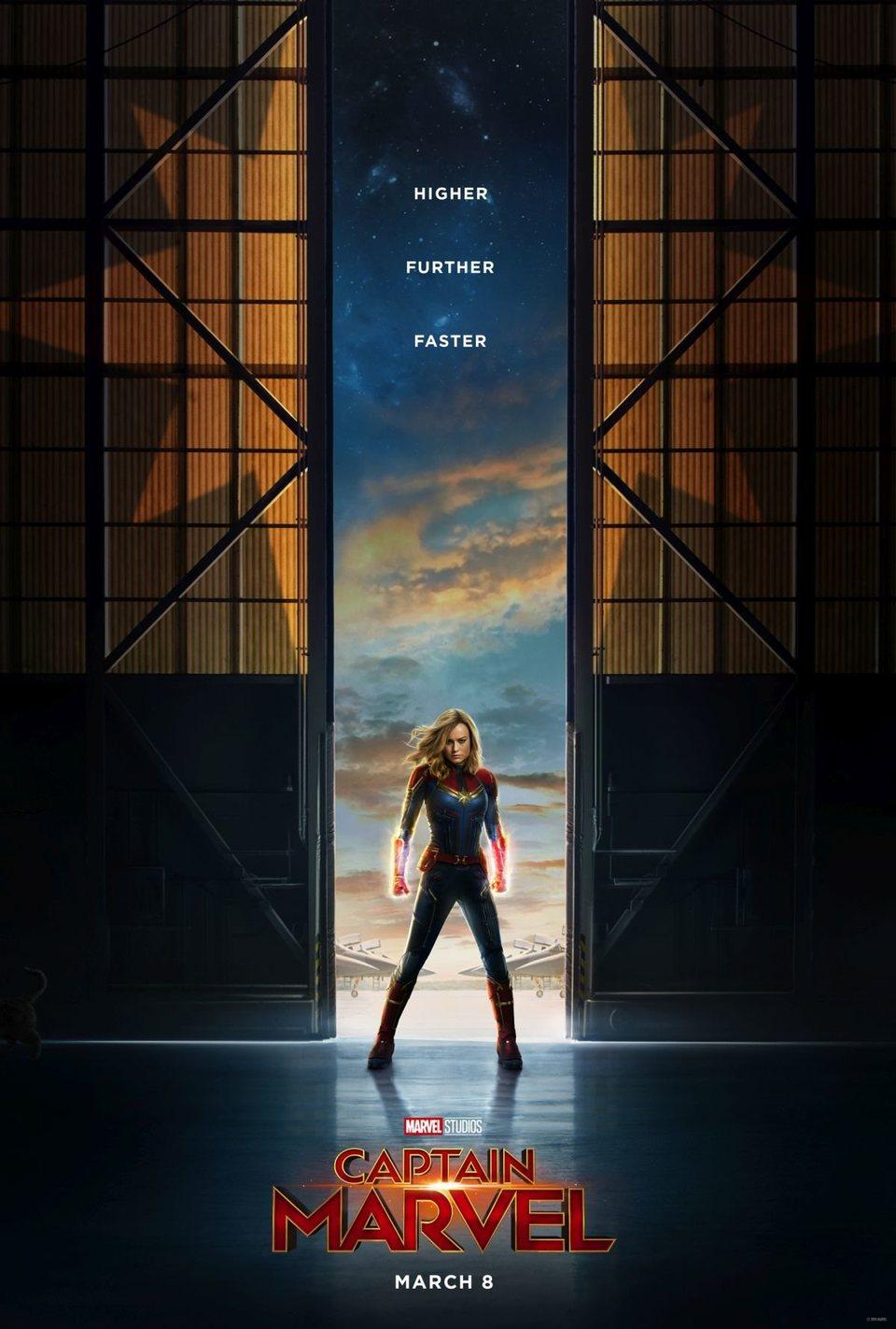 Cartel EE.UU. #2 de 'Capitana Marvel'