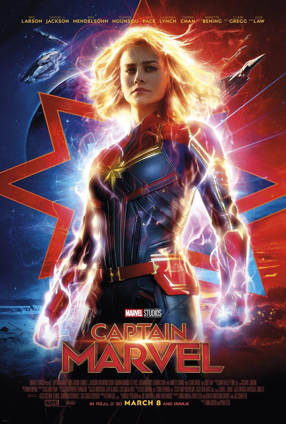 Cartel EE.UU. #3 de 'Capitana Marvel'