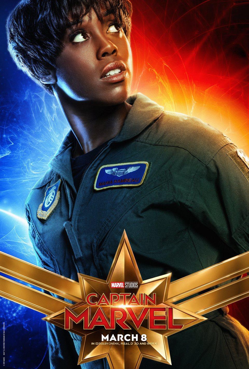 Cartel EE.UU. #4 de 'Capitana Marvel'