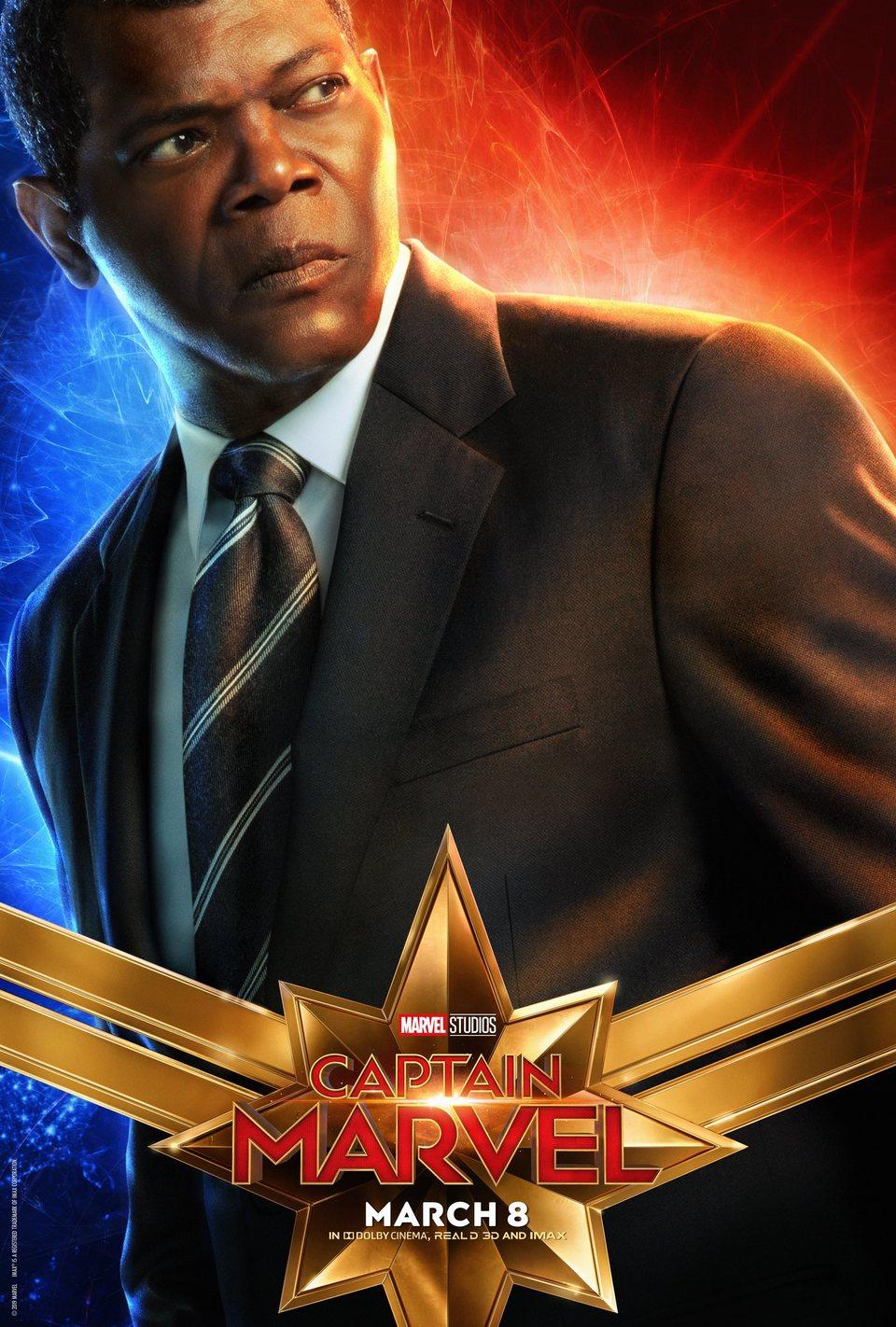 Cartel EE.UU. #6 de 'Capitana Marvel'