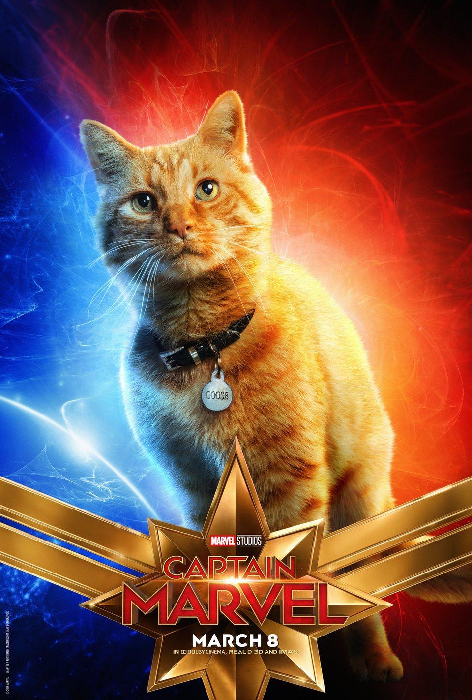 Cartel EE.UU #7 de 'Capitana Marvel'