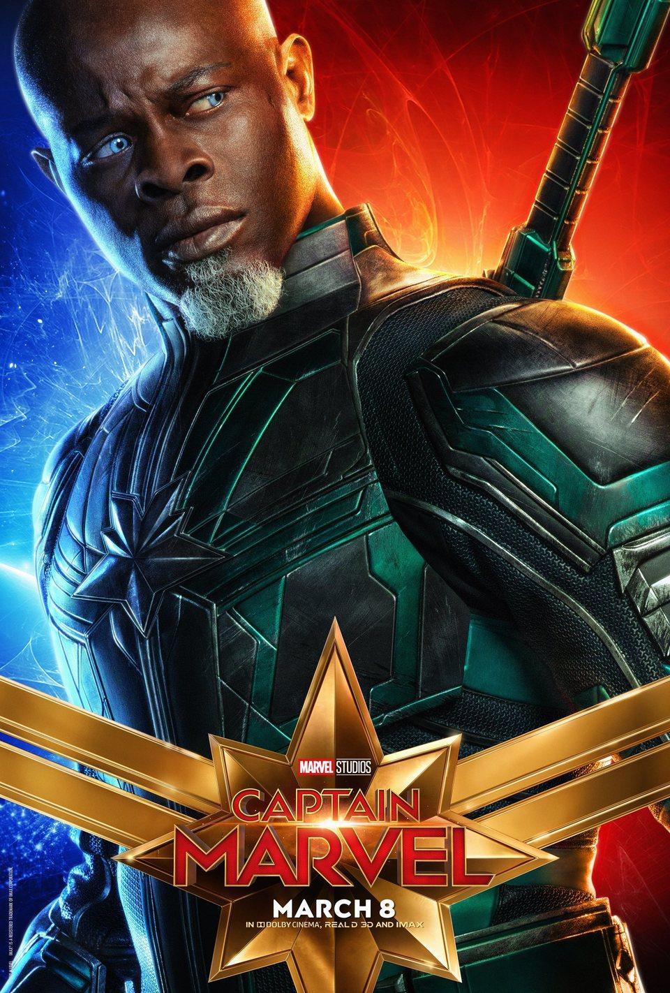 Cartel EE.UU. #9 de 'Capitana Marvel'