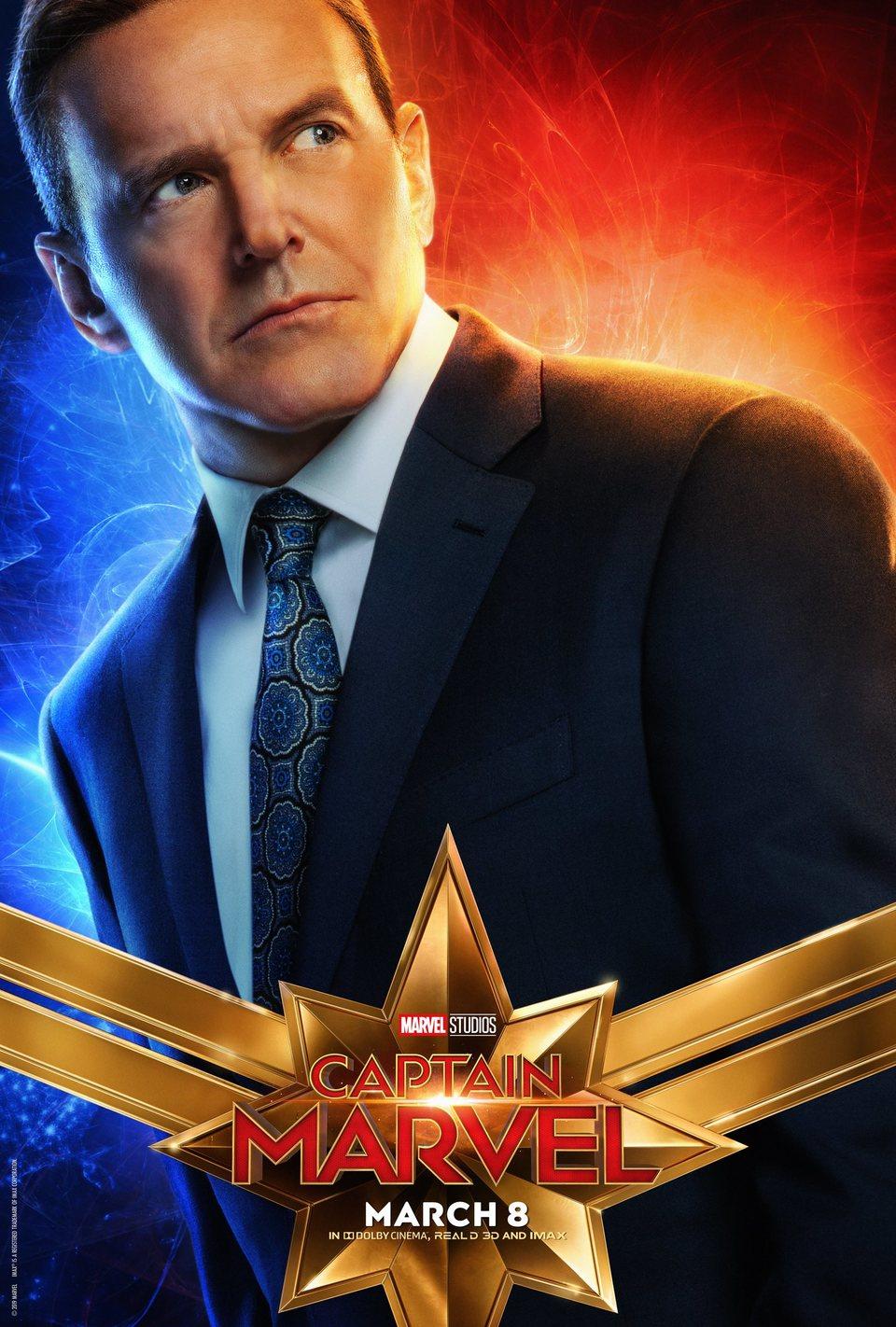 Cartel EE.UU. #10 de 'Capitana Marvel'