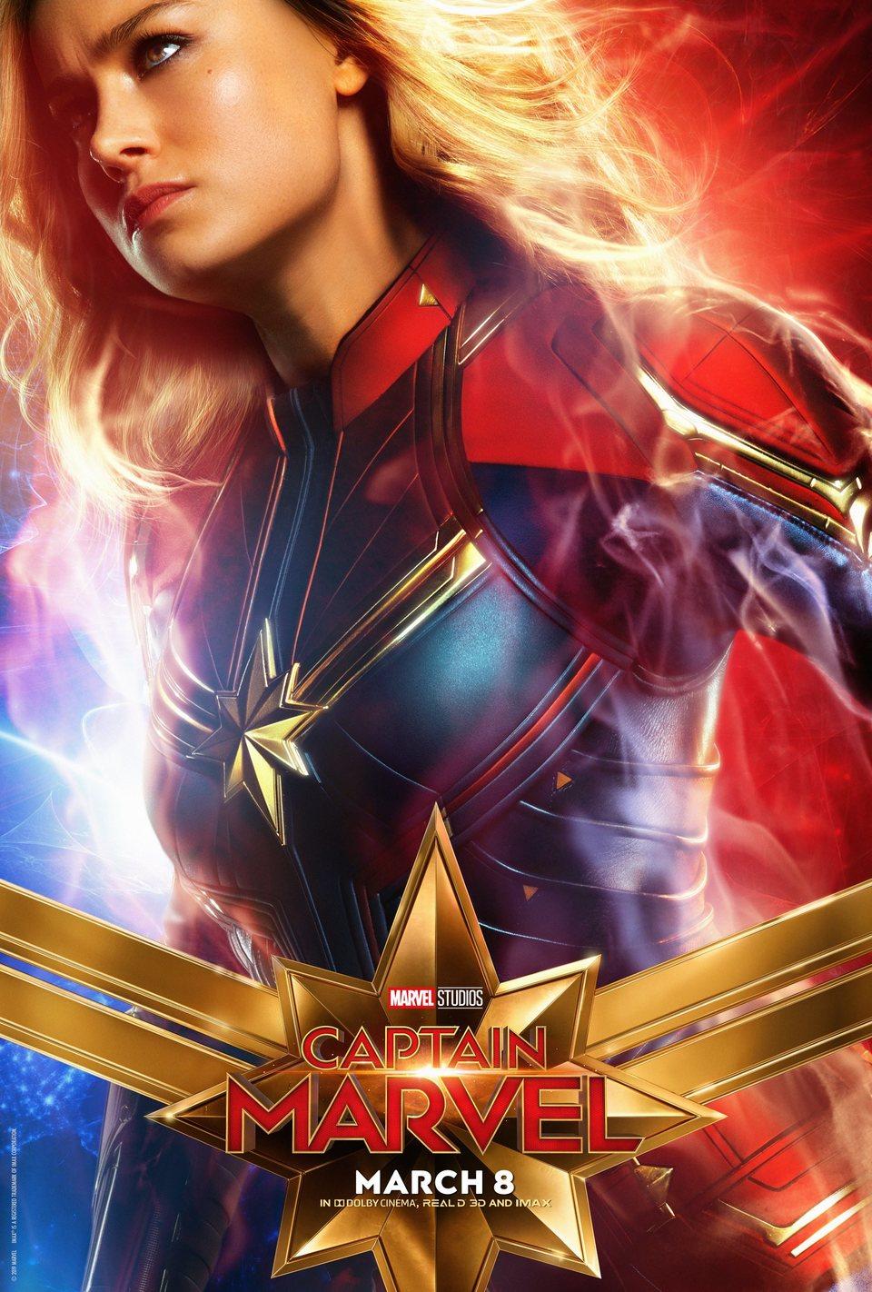 Cartel EE.UU. #11 de 'Capitana Marvel'