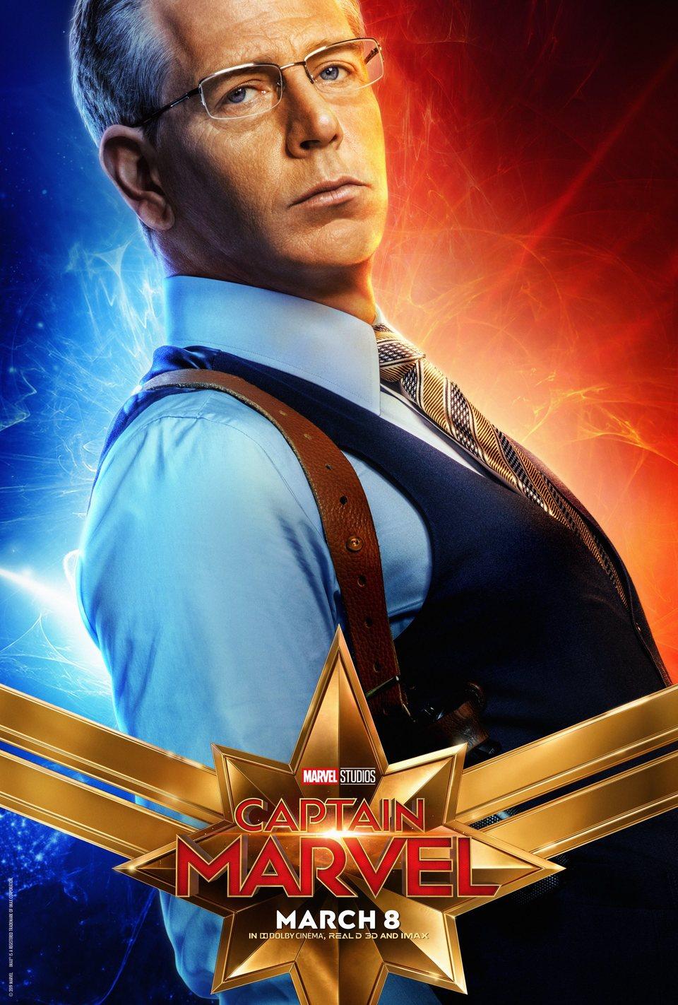 Cartel EE.UU. #13 de 'Capitana Marvel'