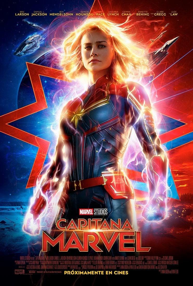 Cartel ESPAÑA #2 de 'Capitana Marvel'