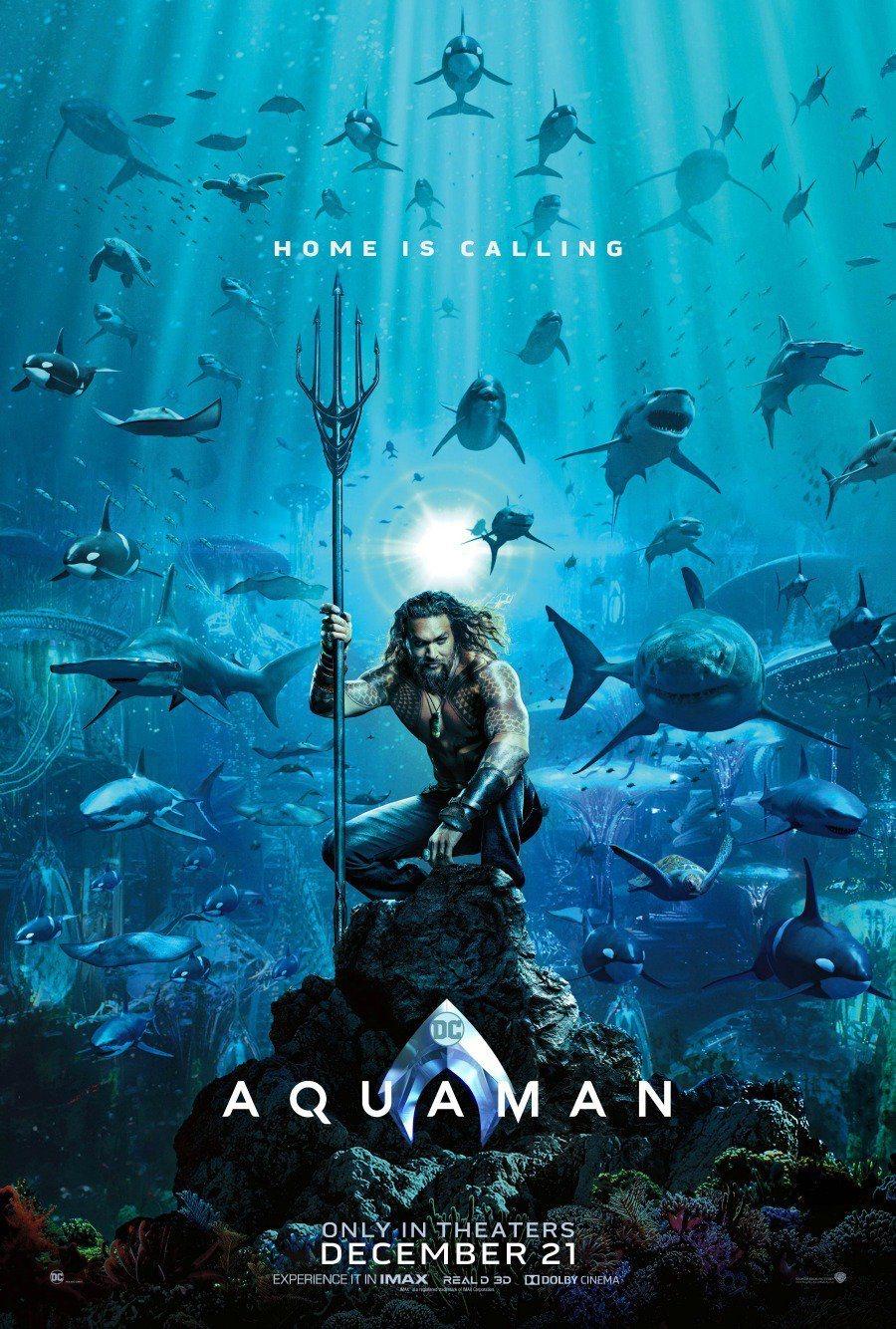 Cartel Teaser EEUU de 'Aquaman'