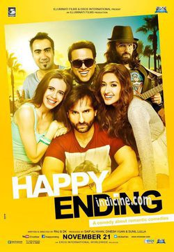 Cartel de Happy Ending